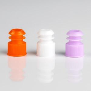 Cap, Flange Plug, 13mm, Yellow, 1000/Unit