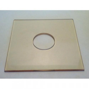 Flask Base Plate 25mm Hole for Manual (ea)