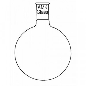 Flask, Round Bottom, 500mL, 24/40 (ea)