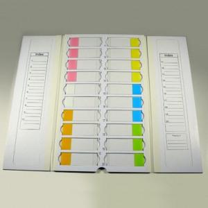 Slide Mailer, Cardboard, for 20 Slides, 10/Unit