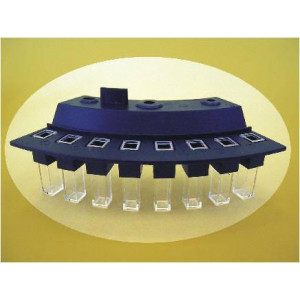 HITACHI: Cuvette, for use with the Hitachi 902 analyzer, 6/Set, 4 Sets/Unit (Note: New packaging)