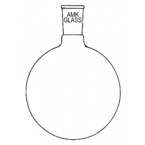 Round Bottom Flask, 25mL, 1 Neck, 19/22 (ea)