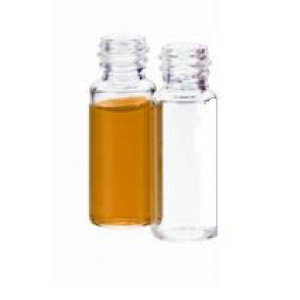 22mL Clear Borosilicate Glass Sample Vial w/20-400 Finish {23x85mm} (200/pk)