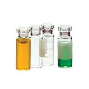 2mL Amber Target Crimp ID Vial {12x32mm} (100/pk)