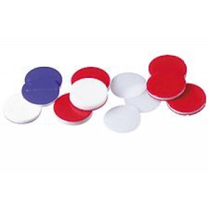 8mm PTFE/ Red Rubber Septum (100/pk)