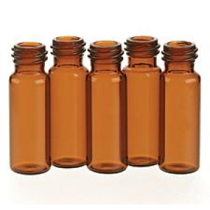 4mL Amber Screw Thread Vial 13-425 Finish {15x45mm} (100/pk)