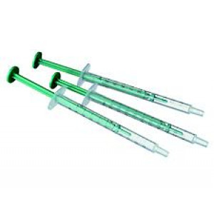 1mL Disposable Luer Slip Syringe, Non-Sterile, PP Barrel with PE Plunger (100/pk)