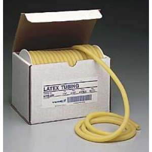 "3/16"" ID X 3/8"" OD Latex Tubing (50'/Reel)"