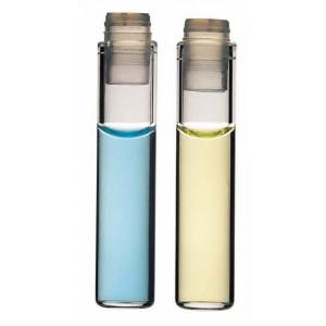8x35  Clear Glass Auto Sampler Secap Injector Vial w/PE Cap (1000/cs)