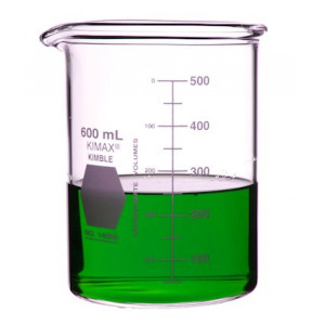 600mL Low Form Heavy Duty Beakers (36/cs)