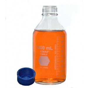 1000mL GL 45 Media Storage Bottles (10/cs)