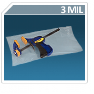 "12"" X 20"" X 3mil Layflat Poly Bag (1000/cs)"
