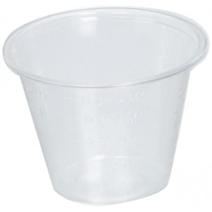 1oz PP Plastic Cups w/ Graduations (5,000 per case)