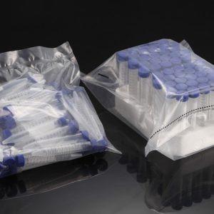 50ml PP Centrifuge Tube (29x115mm), flat screw cap, 25/sterile bag 20packs  500 case, in foam