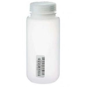 4oz Nalge Natural HDPE WM Bottle {Certified} Bar Coded, Labels (72/cs)