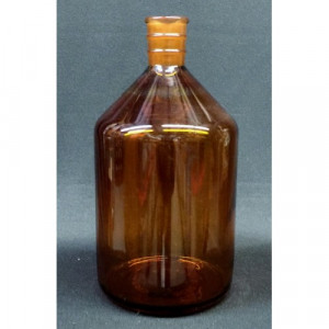 Buret Bottle, 2000mL, Amber, 29/42